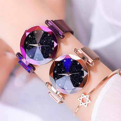 ✨Anniversary Promotion $17.99 Buy 1 Get 1 Free✨Bejewelled Starry Watch