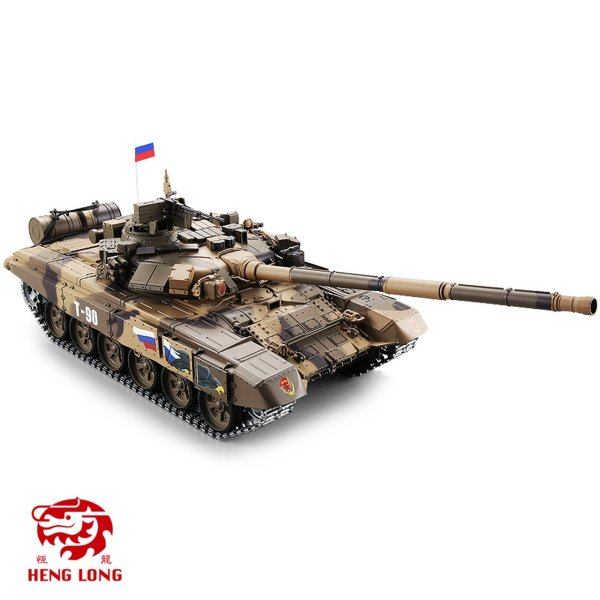 🔥 40% OFF 🔥HENG LONG v6.0 Russian T90 Remote Control 2.4G 1:16 Scale Main Battle Tank