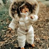 A+++ Winter Down Suit With Fur