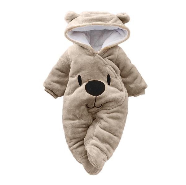 Baby cotton jumpsuit