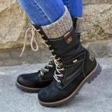 🔥HOT SALE 🔥 Women's Cozy Vintage Leather Knee High Boots