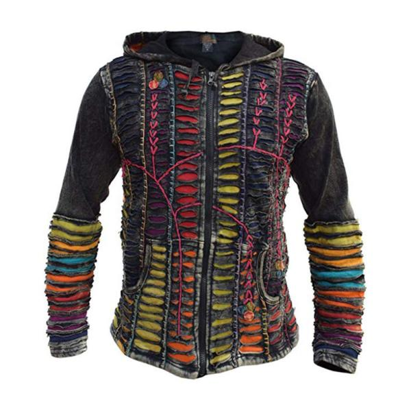Men's Color Matching/Punch Cardigan