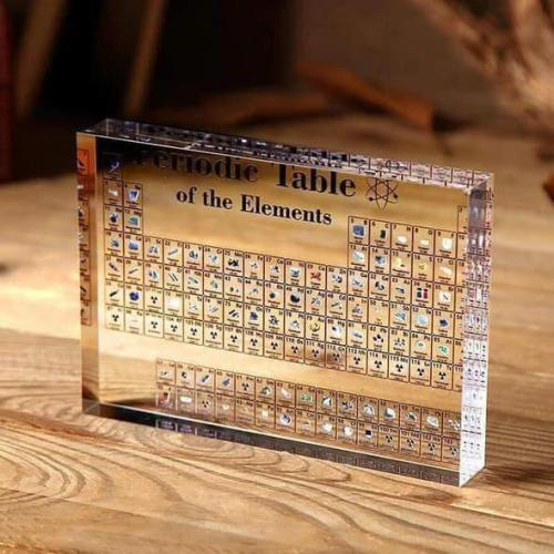 🔥Hot Sale 🔥Collectable Periodic Table with REAL Elements