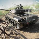 🔥40%OFF🔥2.4G 1/16 Metal Upgraded Tank U.S. M41A3 Walker Bulldog 3839-1🔥