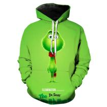 Unisex Classic Green Haired Grinch Hoodie