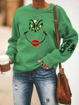 Women's MRS.GRINCH Printed Christmas Sweatshirts