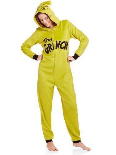 The Grinch One Piece Unisex Pajamas