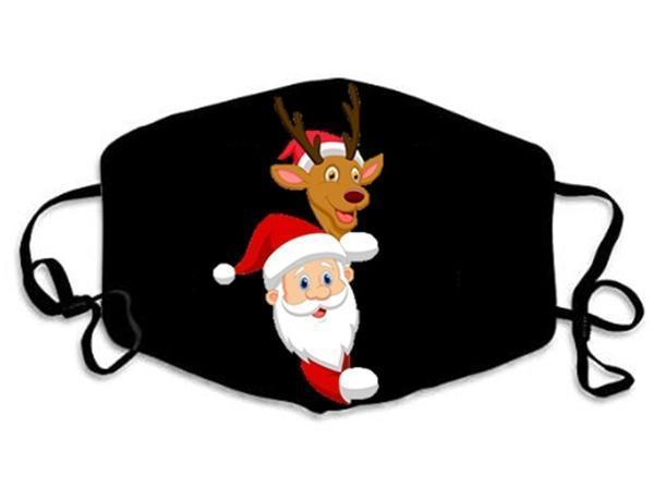 2020 Unisex Christmas Festival  Washable Reusable Masks(Buy 1 Get 1 Free)