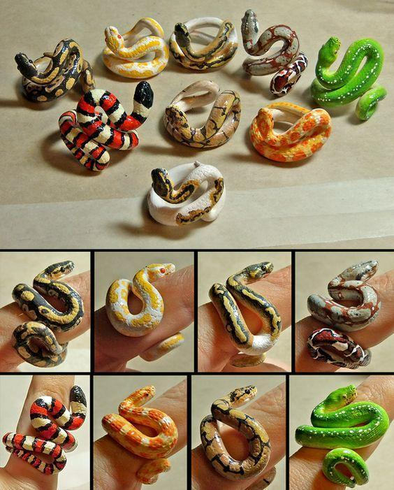 🔥 HOT SALE🔥40% OFF ONLY TODAY🐍Realistic Snake Ring