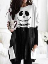 Women's Halloween Jack Skellington T-shirt