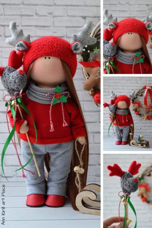 🔥2020 HOT SALE🔥 Christmas Fabric Doll