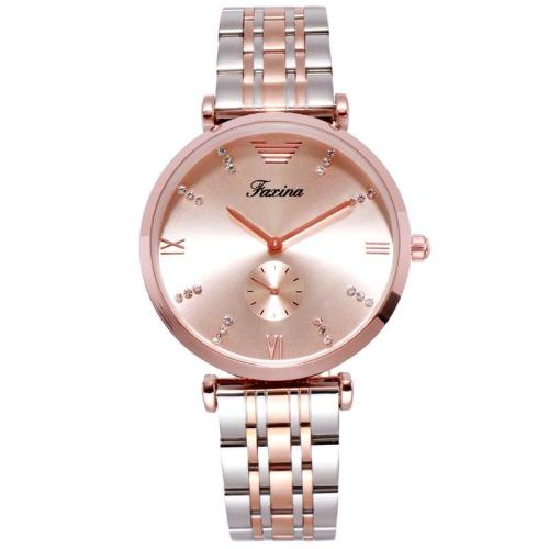 Ultra-thin Stainless Steel Strap Couple Watch Women's Watch