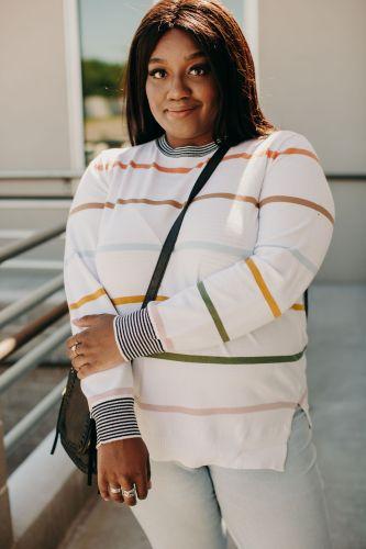 Stripes on Stripes Sweater