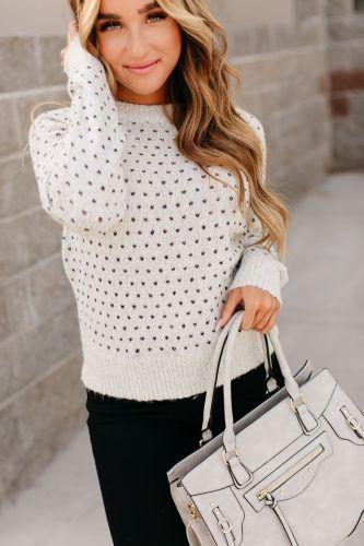 Heart Stitch Sweater