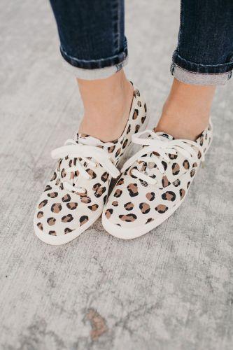 Champion Sneakers - Leopard