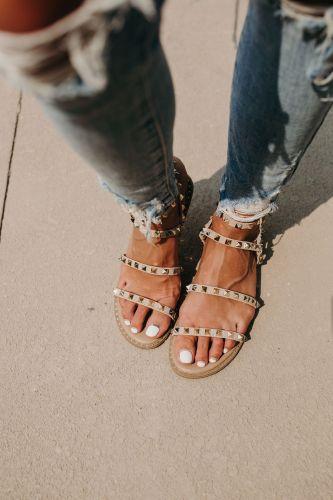 Gianna Studded Sandal