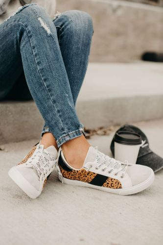 Dina Sneakers - Leopard