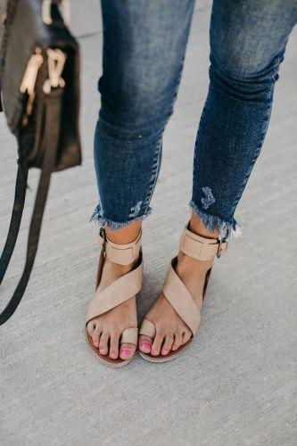 Dagan Sandals - Beige
