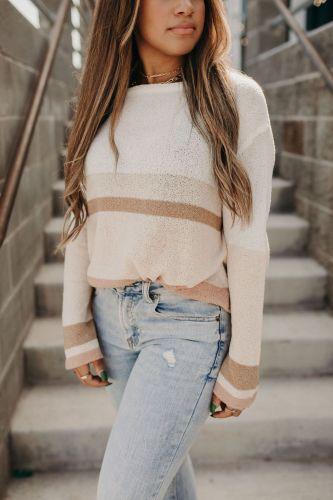 Lisa Colorblock Sweater