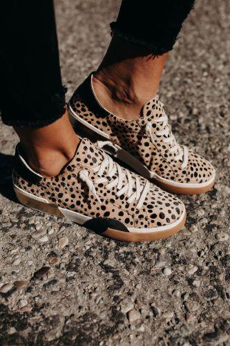 Zina Sneakers - Leopard