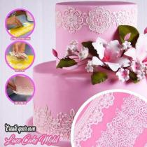 💟Make beautiful cakes💟Silicone Molding Lace Mat