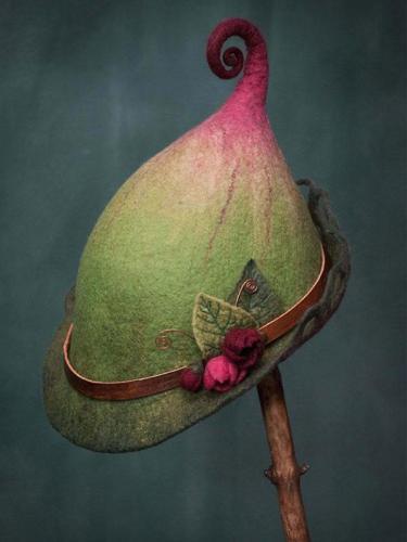 Vintage Cotton-Blend Hats