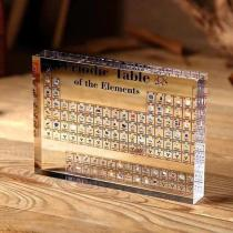 🔥$25.99 Hot Sale🔥Collectable Periodic Table with REAL Elements