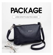 2020 New 🔥Three Layers Multi-Pockets Soft Cowhide 🔥Single-Shoulder Bag