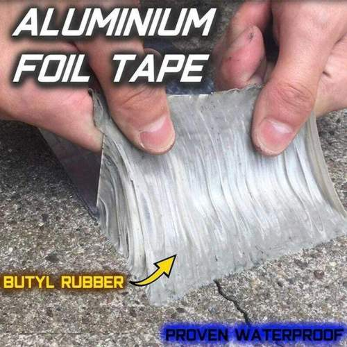 Aluminium Foil Butyl Rubber Tape