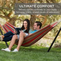 【🔥Promotion $29.99🔥】ultimate comfortable leisure hammock--with Steel Stand