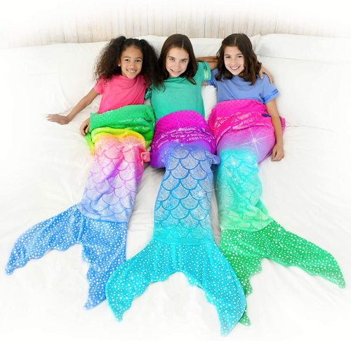 Mermaid Tail Blanket (Youth Size)-Buy 2 Free Shipping🚀🚀