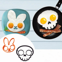 🔥【Super discount】💀⚡ Halloween scary skull egg mold