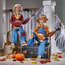 Halloween Animated Banjo Skeletons(Free Shipping)