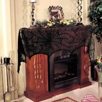 🕸Halloween lace spider web fireplace🕷