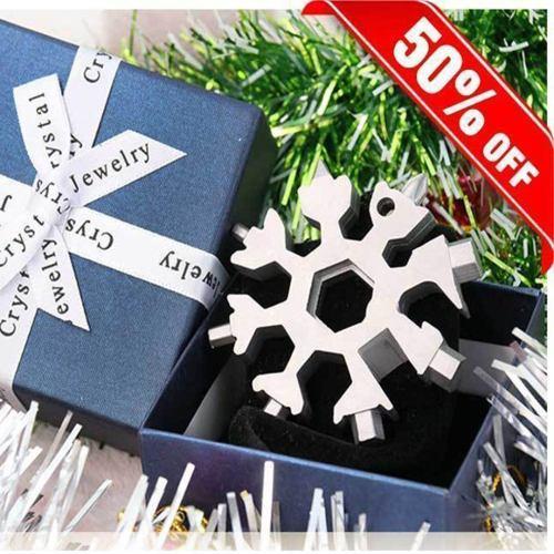 Saker® 18-in-1 stainless steel snowflakes multi-tool