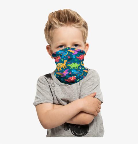 Face Gaiter for Kids Summer Face Covering Neck Gaiter Kid Face Scarf Children 4pcs