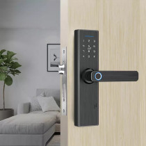 5-In-1 Smart Lock With WiFi APP Password RFID Unlock