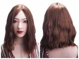 トルソー Sino Doll ラブドール 75cm Bカップ 腕付き #33ヘッド フルシリコン製 半身人形