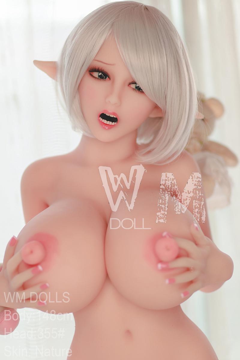 WM Dolls TPE製ラブドール 148cm Lカップ #355 ELF ears 三つのヴァギナ付き
