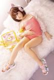 MZR Doll 軟性シリコン製頭部 TPEボディー 138cm 梨花 Aカップ