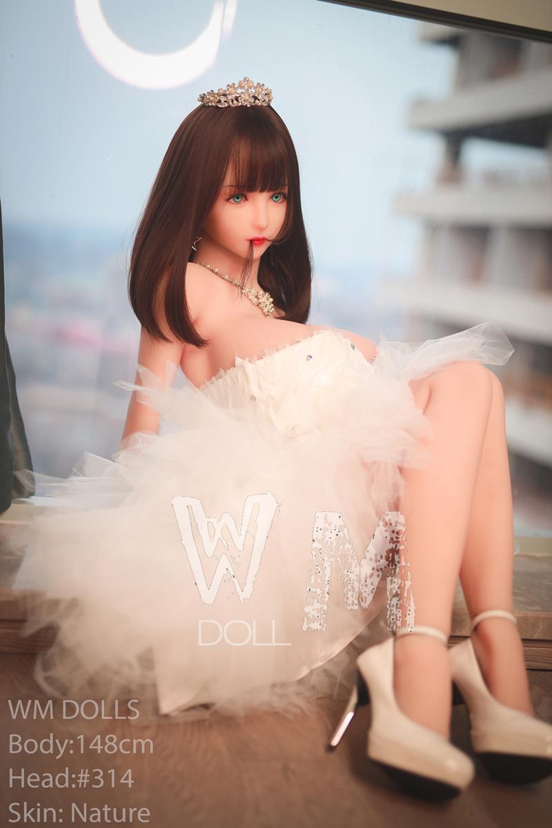 WM Doll ラブドール 148cm Lカップ #314 三つのヴァギナ付き TPE製