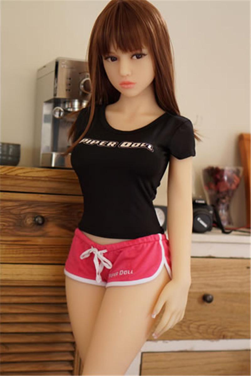 PiperDoll TPE製ラブドール 130cm Haru Cカップ シームレス