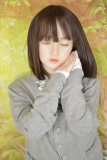 MyLoliWaifu ロリ系人形 ラブドール 138cmAA バスト平 莉子Riko(瞑り目ヘッド) シリコンヘッド+TPEボディ