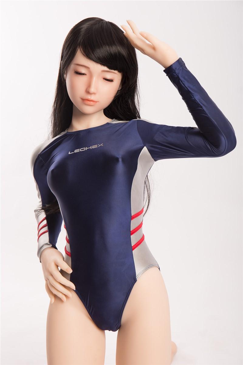 Sanhui Doll ラブドール 160cm Bカップ #24 瞑り目 フルシリコン製
