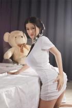 BB Doll 160cm ラブドール 普通乳 #Gヘッド 血管&人肌模様など超リアルメイク無料 眉の植毛無料 フルシリコン製