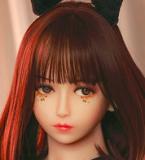 WM Doll リアルドール 140cm D-cup #56ヘッド tpe製ラブドール  送料無料