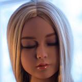 WM Doll tpe製ラブドール 140cm A-cup #59(瞑り目)ヘッド 送料無料