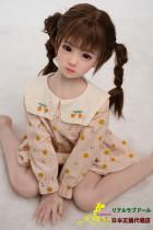ロリ人形 AXBDOLL童顔少女 tpe製ラブドール 108cm 貧乳 #10ヘッド