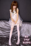ロリ系人形 MyLoliWaifu ラブドール 138cmAA バスト平 莉子Riko(瞑り目ヘッド) シリコンヘッド+TPEボディ