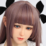 ラブドール Jiusheng Doll シリコン製頭部+TPEボディ 150cm Bカップ #21ヘッド 送料無料